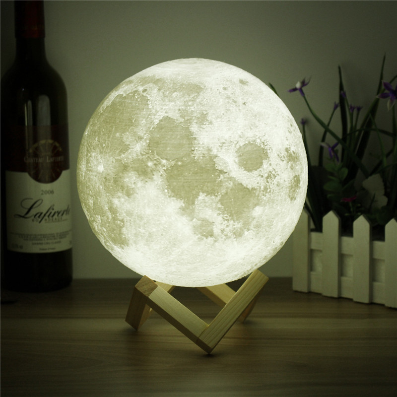 Shopify Dropshipping Product Ideas 2018 Full Moon Night Lamp