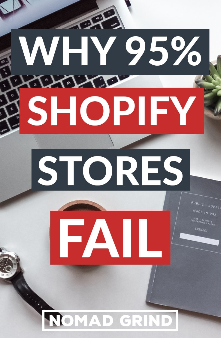Why So Many Shopify Stores Fail