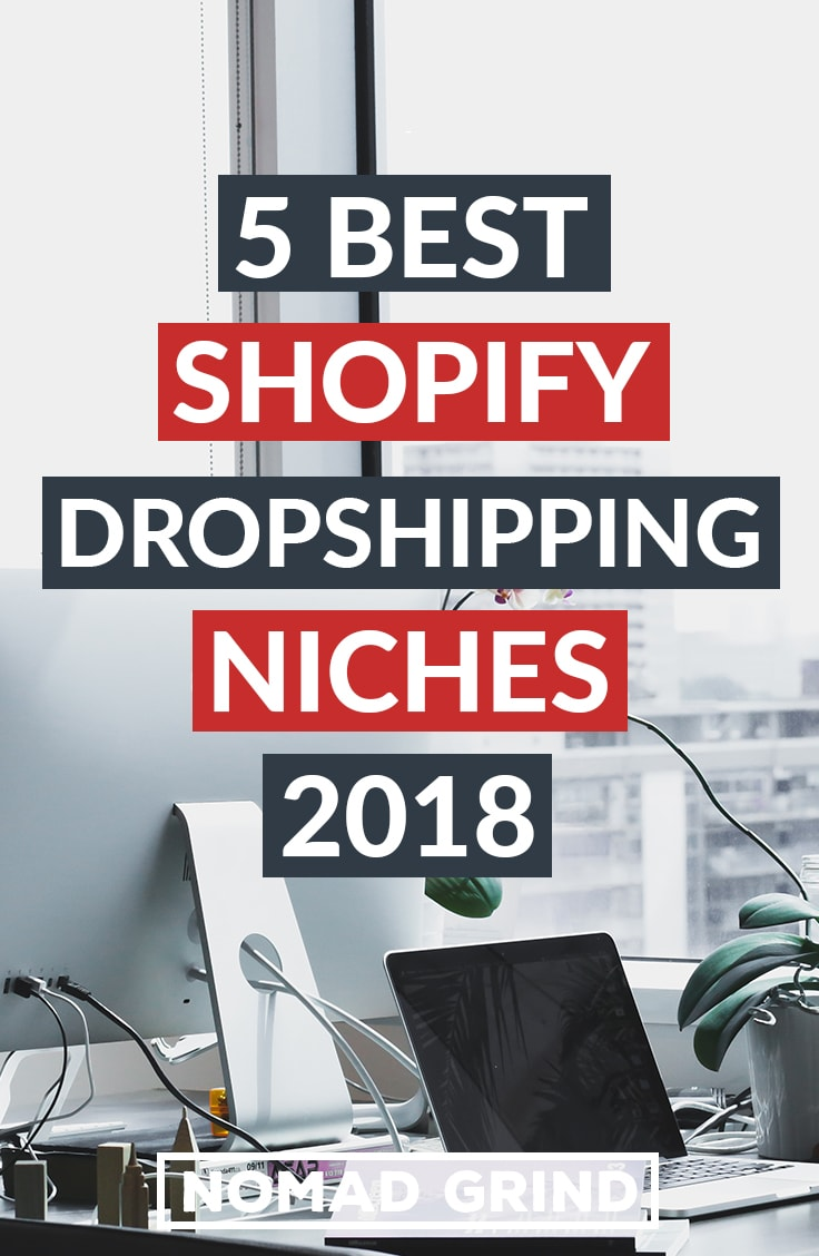 5 best shopify dropshipping niches for 2019