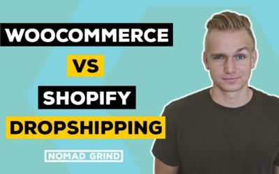 Woocommerce vs Shopify Dropshipping 2018