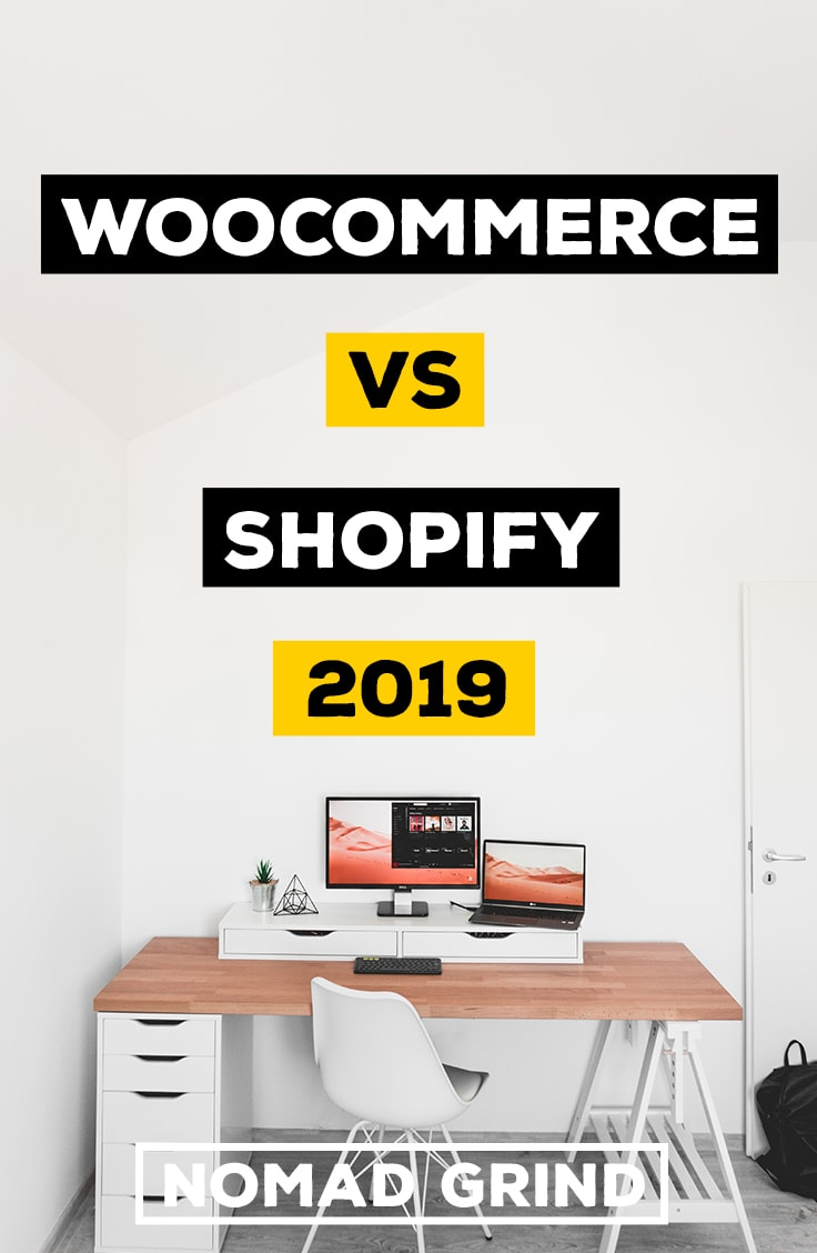 Woocommerce vs Shopify 2019