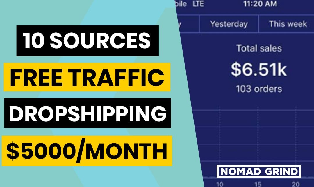 10 Dropshipping FREE TRAFFIC Hacks (Marketing Tips)