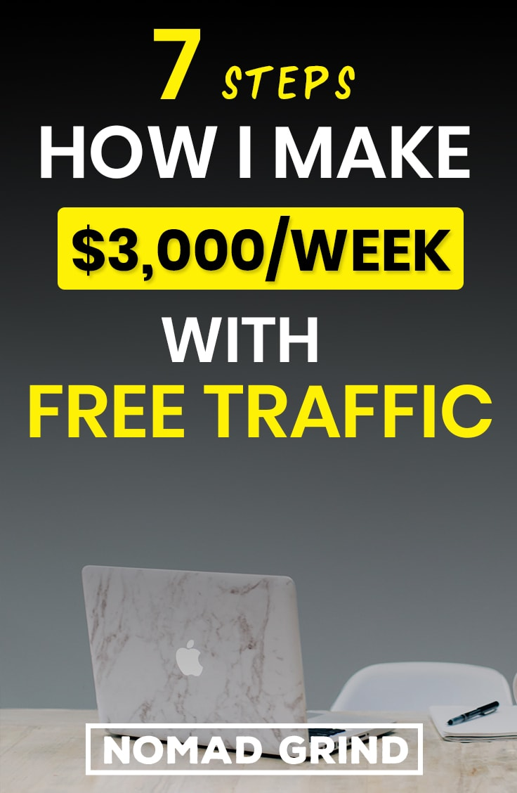How I Make $3000 A Week With Free Traffic Dropshipping On