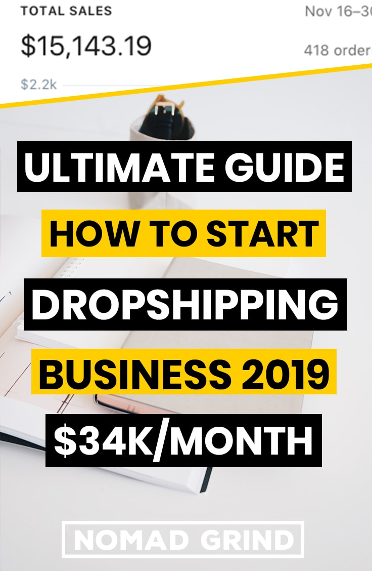 Ultimate Guide How To Start Dropshipping Business In 2019 - Nomad Grind