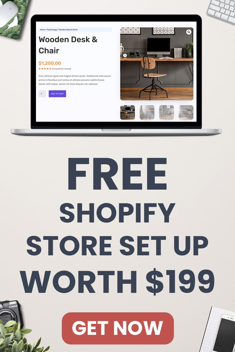 Free Shopify Set Up