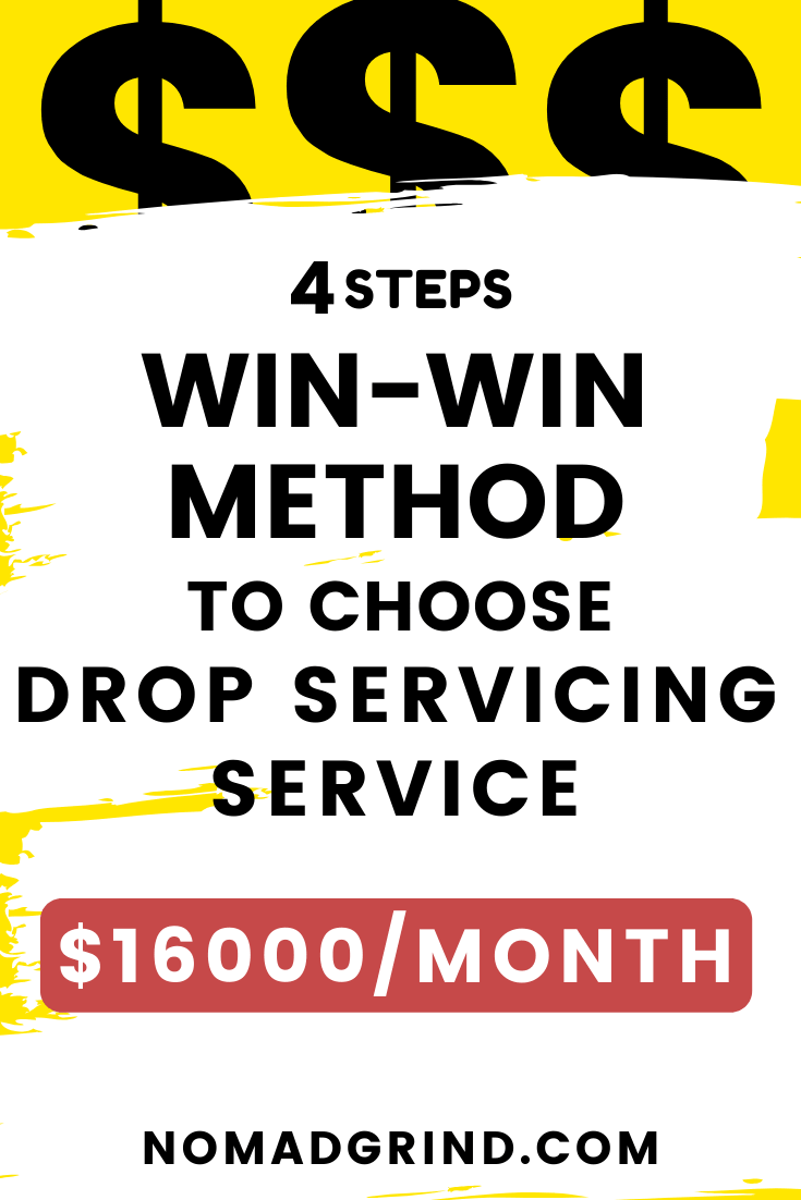 How To Choose A Drop Servicing Service To Sell (Niches/Ideas)