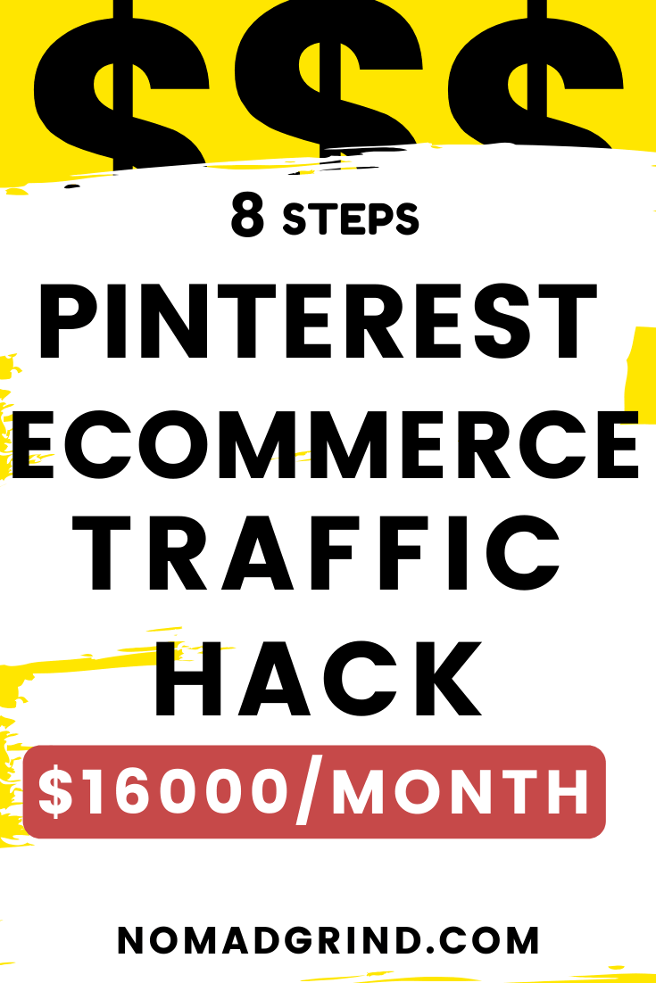 Pinterest For Ecommerce Traffic (180K Visits On Autopilot)