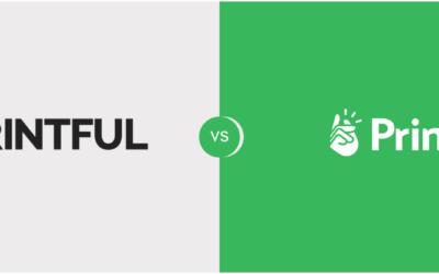Printful vs Printify Review (Cost, quality, print on demand supply…)