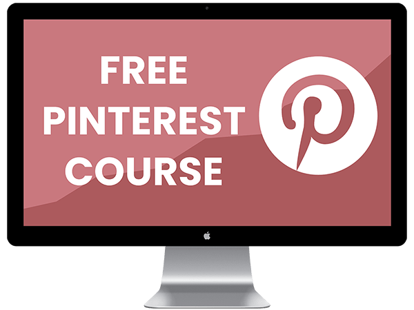 Free Pinterest Course Mockup
