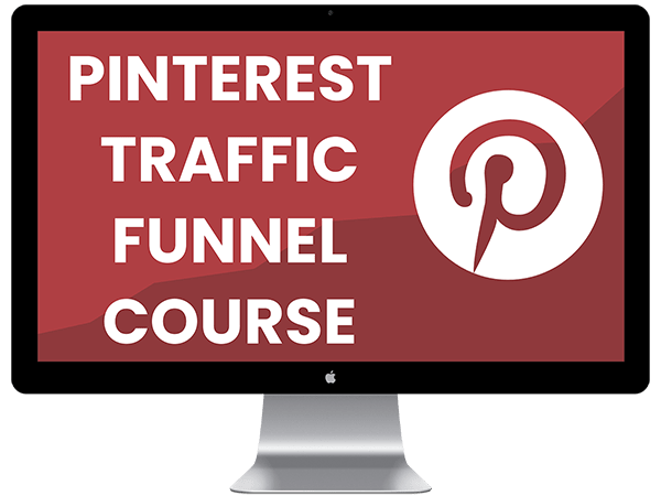 Pinterest Traffic Funnel Course Mockup